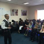 Автор родологии Валерий Докучаев с семинаром в Астане.