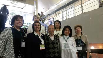 Родологи на конгрессе психотерапевтов в Москве. 2016 год