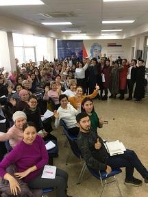 """Семинар по родологии """"Здоровье и наследственность"""". Алматы  2019 год"""