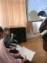 Лариса Докучаева. Занятия по родологии в шк№63