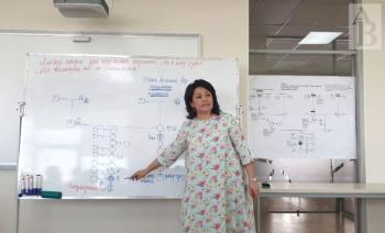 Алия Сагимбаева - преподаватель родологии.