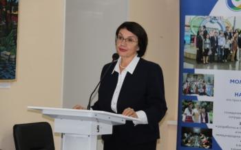 Лариса Докучаева - председатель совета по родовой культуре Ассамблеи народов Евр